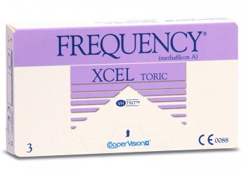Cooper Vision Frequency Xcel Toric Disposable Contact Lenses