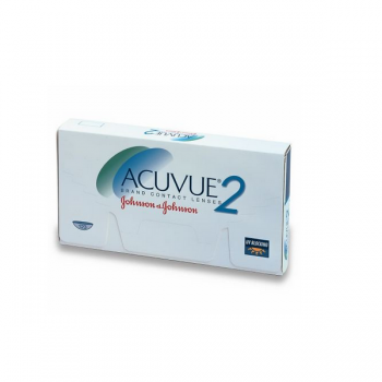 Johnson & Johnson Acuvue 2 Contact Lenses (6 Lens Boxes)