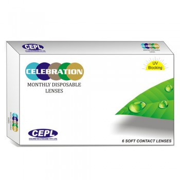 Celebration Monthly Disposable Contact Lenses