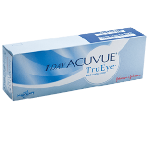 Acuvue true eyes brand contact lenses