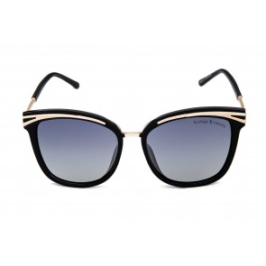 VINTAGE ELEMENTS 6252 Matt Black Sunglass