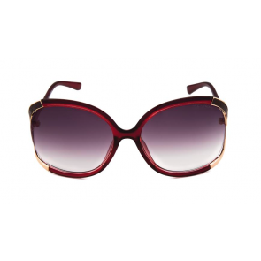 Vintage Elements 9607 Burgundy Sunglass