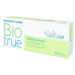 BIO True One Day Disposable Contact Lenses