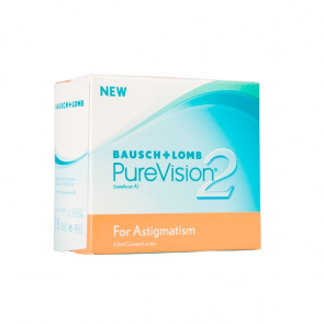 Bausch & Lomb PureVision 2 Toric Disposable Contact Lenses