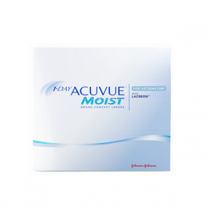 Johnson & Johnson Acuvue Moist For Astigmatism Disposable Contact Lenses