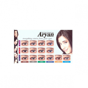 Aryan 3 Tone Disposable Contact Lenses