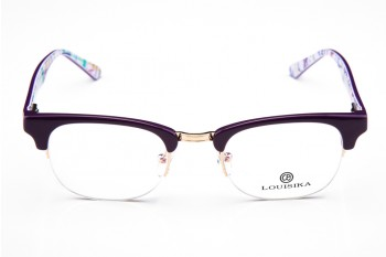 LOUISIKA 1202 Purple&Golden Frame