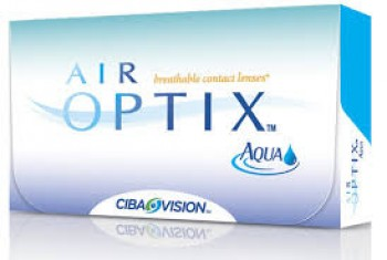 Ciba Vision Air Optix Aqua Disposable Contact Lenses
