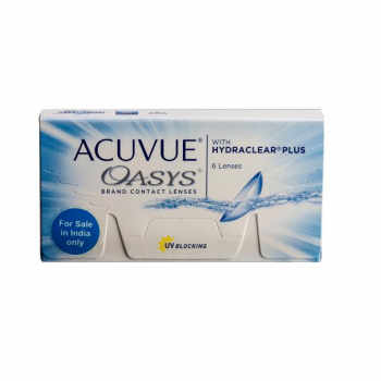 Johnson & Johnson Acuvue Oasys With Hydraclear Plus Disposable Lenses