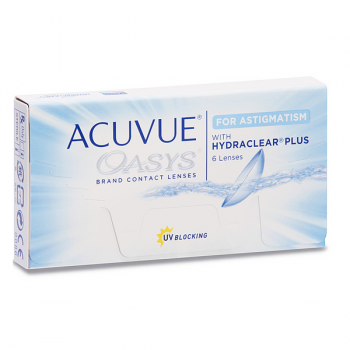 Johnson & Johnson Acuvue Oasys For Astigmatism Disposable Lenses