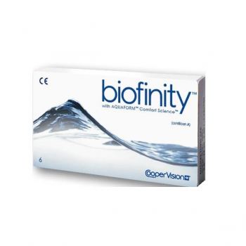 Cooper Biofinity (Silicone Hydrogel Lenses with Aquaform Technology) 3rd Generation Lenses