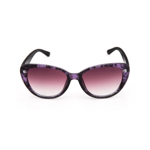 Vintage Elements 8066 Black purple Sunglass