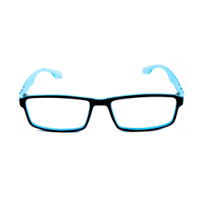 MR.SPEX 8231 Matt Black&Blue Frame