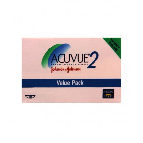 Johnson & Johnson Acuvue 2 Contact Lenses (12 Lens Boxes)