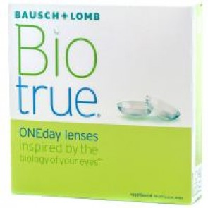 Bausch & Lomb Bio True Daily Disposable Lenses (30 Lenses Box)