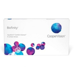 CooperVision Biofinity XR Monthly Disposable Contact Lenses