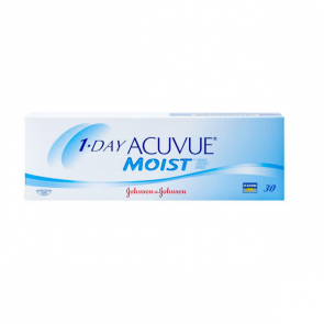 Johnson & Johnson 1-Day Acuvue Moist Contact Lenses (30 Lens)
