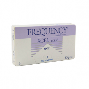 Coopervision Frequency Xcel Toric XR Disposable Contact Lenses