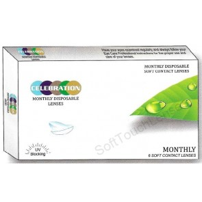 Celebration Colour Weekly Disposable Contact Lenses