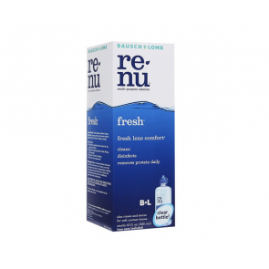 Bausch & Lomb Renu Fresh Multi Purpose Lens Solution 355ml