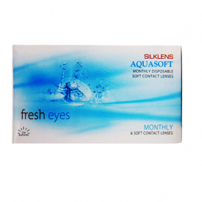 Silklens Aquasoft Fresh Eyes Contact Lenses