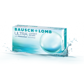 Bausch + Lomb ULTRA contact lenses with MoistureSeal technology